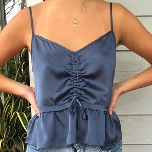 Abercrombie and Fitch Silk Top